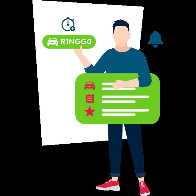 Cashless Parking | RingGo app