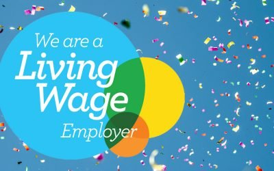 We're officially a Living Wage employer!