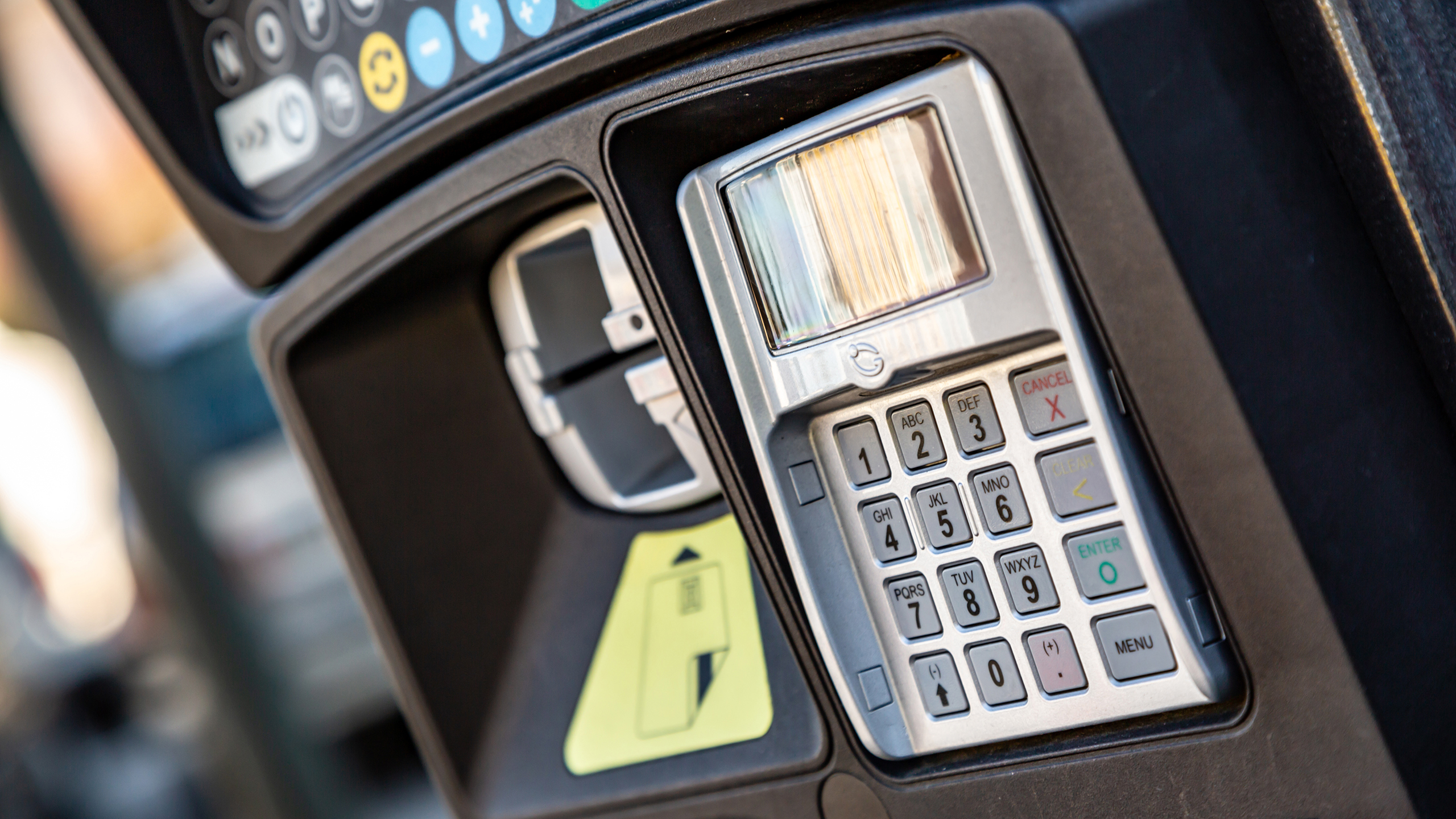 Pay and Display Machines