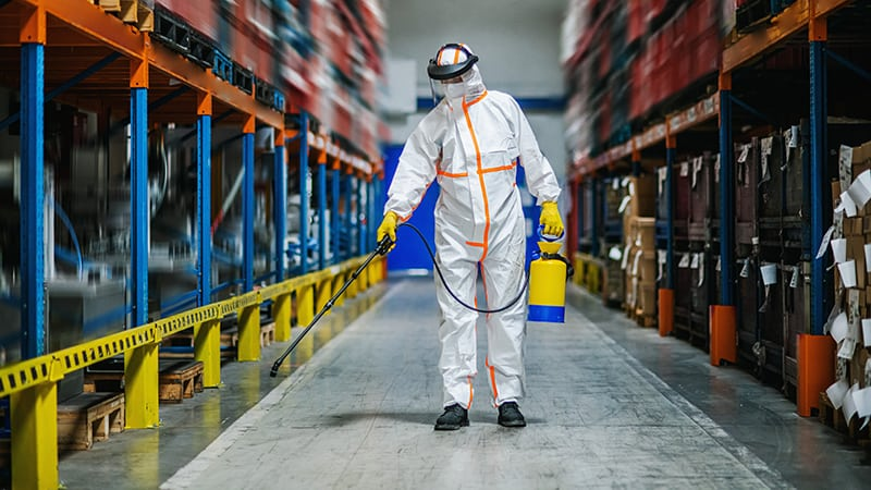 Industrial Cleaning   Trusted Facilities Management